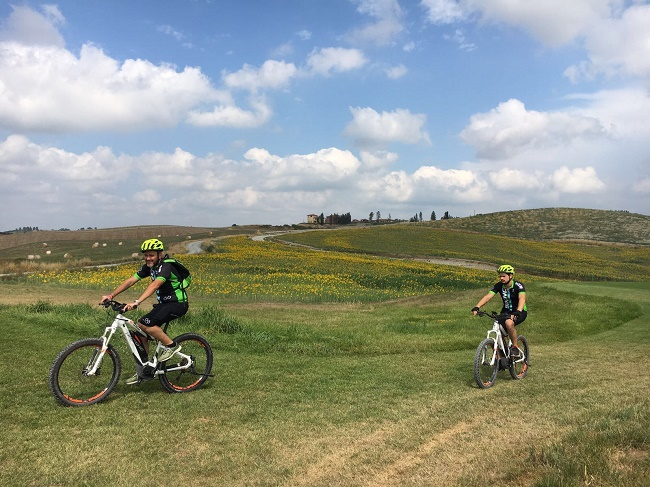 Castelfalfi: i tour in mountain bike